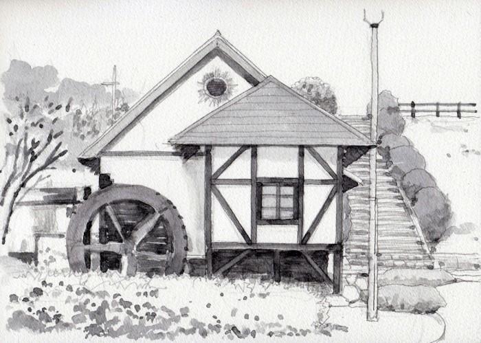 山の駅の水車 (700x499)