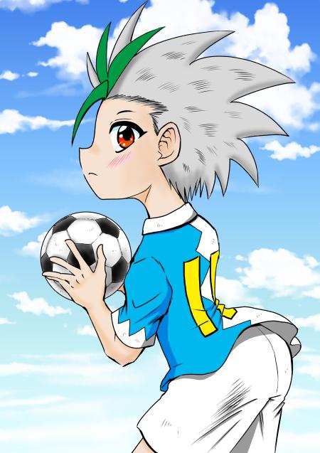 鷲尾くん サッカーボール