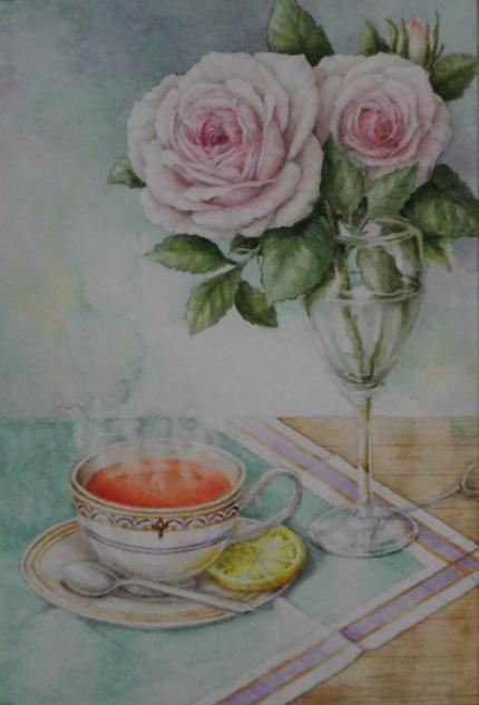バラと紅茶 1711