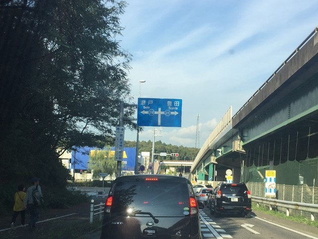 イケア長久手オープン前入店車列
