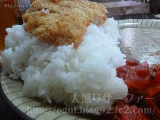 世界遺産的な巨大な白飯とカツ034