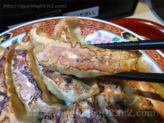中華食堂一番館のW餃子定食068