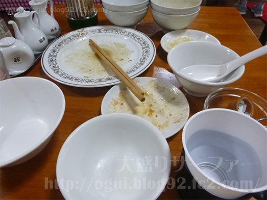 中華料理食べ放題ランチ完食025