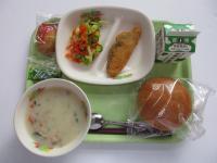小松菜のクリームシチュー