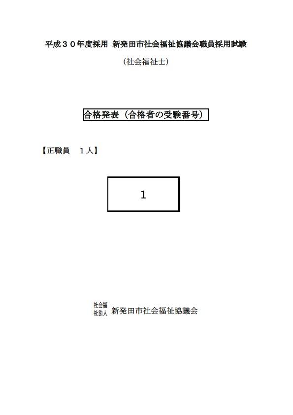 H30第2次試験結果