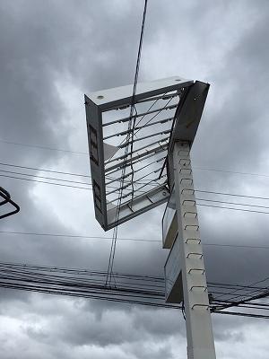 台風通過後の緊急対応54