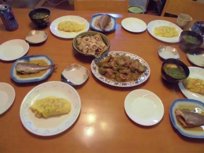 10.1夕食