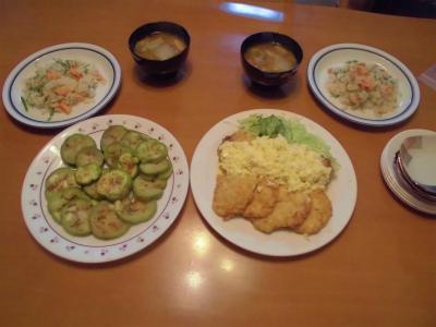 10.6晩飯