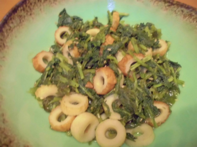 10.7大根菜の炊き合わせ