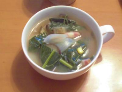 10.8カーボロネロを使ったスープ