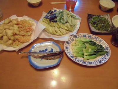 10.13夕食