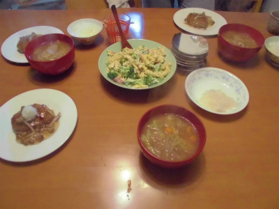 10.20夕食