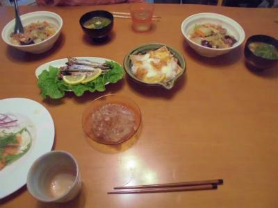 10.21夕食