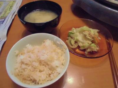 10.24バター醤油ご飯で朝食