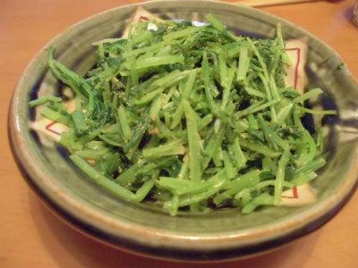 11.13壬生菜の辛子合え
