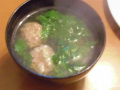 11.18肉団子汁