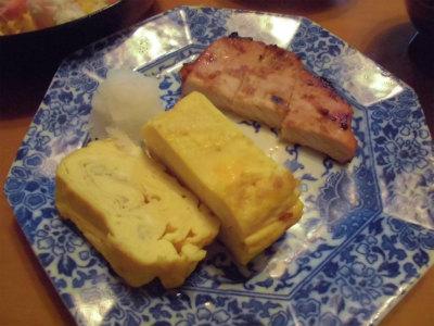 11.19出汁卷きと豚ロースの味噌焼き