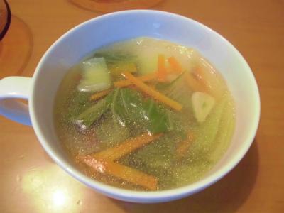11.23青梗菜の中華スープ