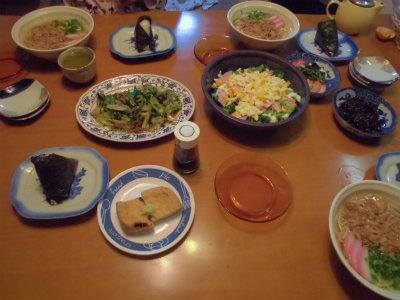 12.3夕食