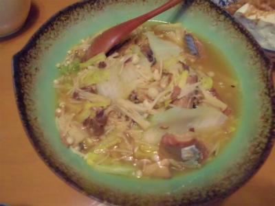 12.8白菜とエノキの鯖缶煮