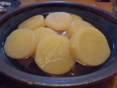 12.9素朴な大根煮