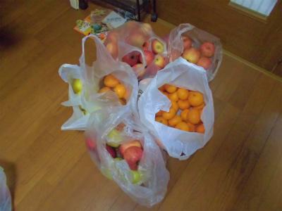 12.10貰った果物