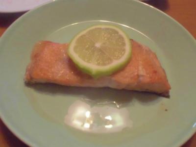 12.17鮭のバター焼き
