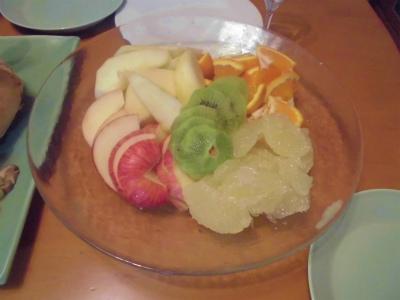 12.24果物の盛り合わせ