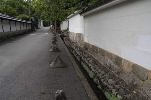 南禅寺・金地院前の水路_H27.09.10撮影