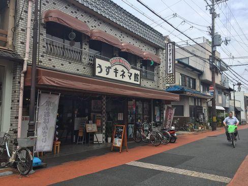 大映通り商店街・キネマキッチン外観_H29.06.27撮影