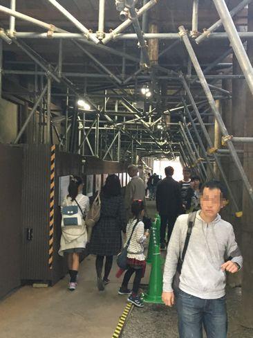清水寺・工事現場の見学_H29.11.03撮影