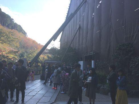 清水寺・工事現場_H29.11.03撮影