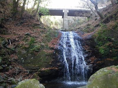 滝見橋から中ノ沢へ