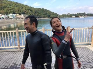 鹿野_初ダイビング_006