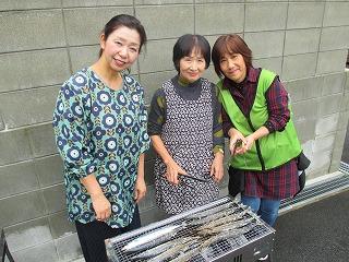 秋刀魚・避難 (2)