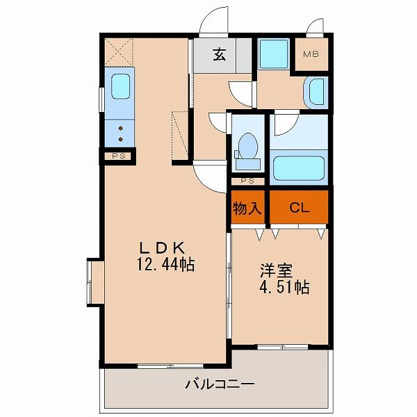 1号室(2F~4F)