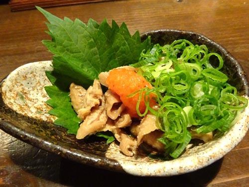03親鶏の皮ポン酢