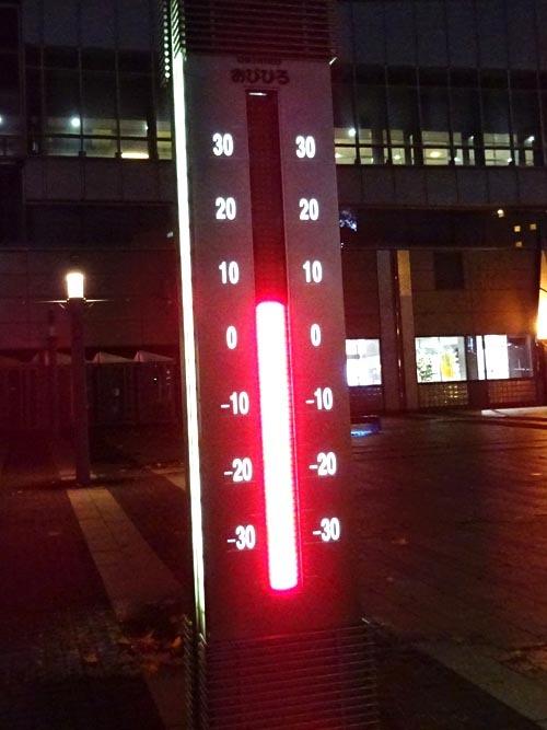 63気温7度