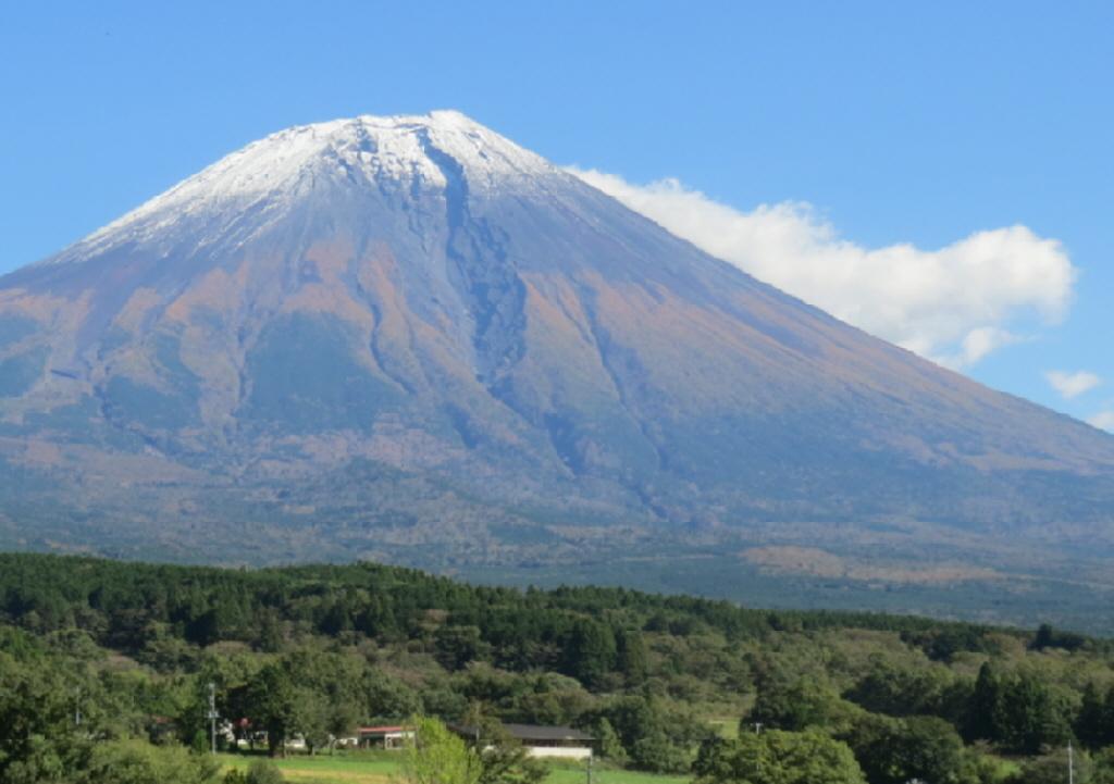 富士山西麓からの富士