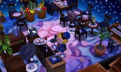 地下のカフェコーナー