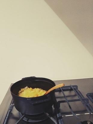 煮りんご②