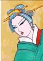 3浮世絵豊国日本髪