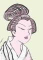 3喜多川歌麿 北国五色墨 芸妓