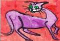 ネコ迷画緑のひとみ