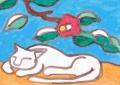 熊谷守一の猫ニャー (2)