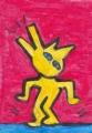 猫の迷画猫キース・ヘリング (2)