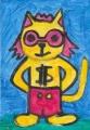 風猫の迷画猫キース・ヘリング (3)