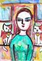 猫迷画 (3)