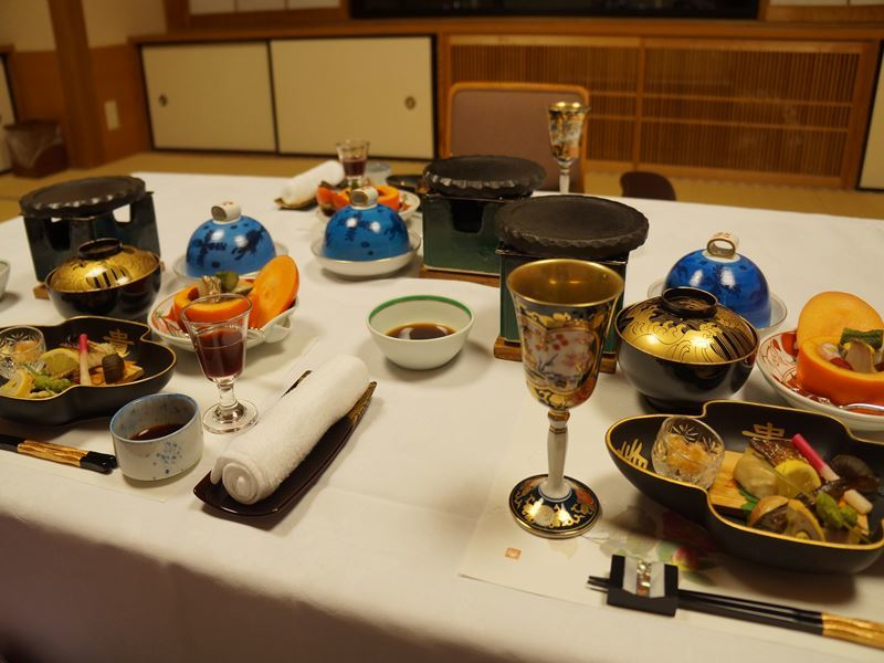 ホテルの料理
