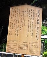 DSC09988建長寺の柏槙看板